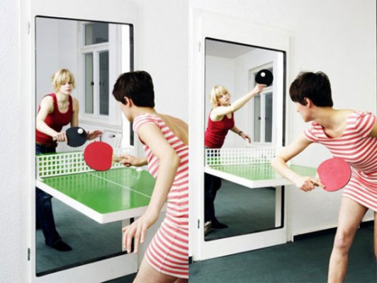 pingpong door 2 532x400 Six Awesome Interior Accessories