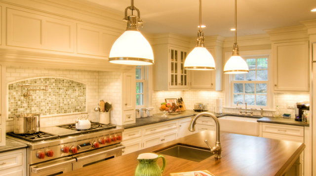 An image of new kitchen cabinetry