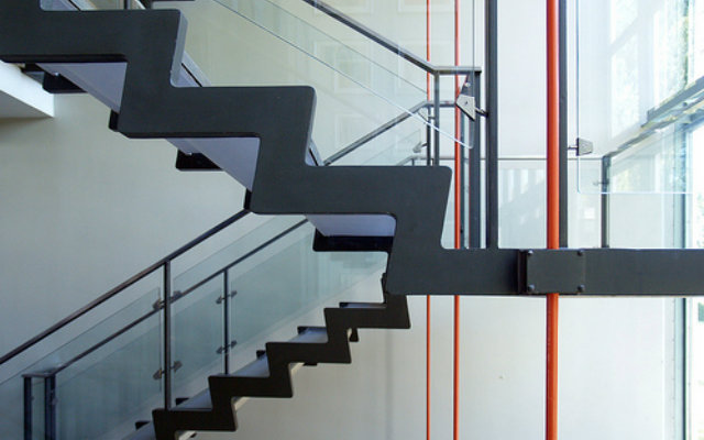 Stairs which have been created using an architect