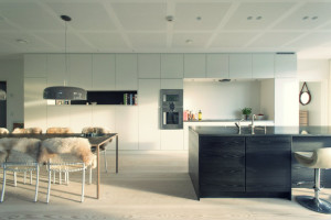 Modern kitchen design using technology