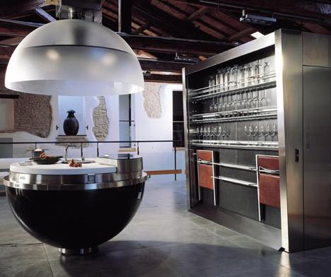 Sheer Sphere Kitchen