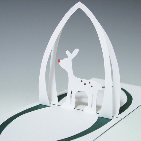 How to create a Reindeer Pop-up cardDIY Guides