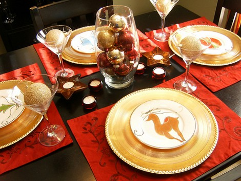 xmas tableware [] & How to Christmas-tise your homeDIY Guides