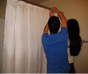 How To Install A Shower Curtain In Your Showerdiy Guides