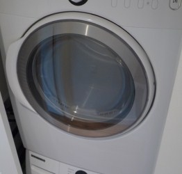 Free Dryer Repair Guide - Open the cabinet of GE brand clothes dryers